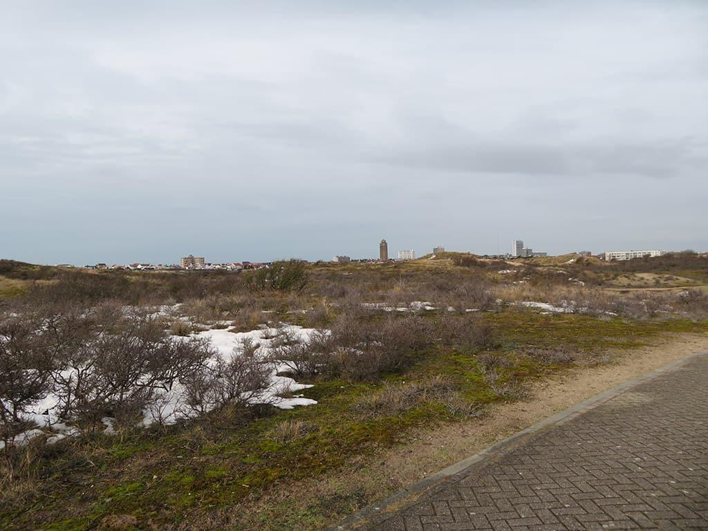 MirandaWandelt - Amsterdamse Waterleidingduinen zicht op Zandvoort