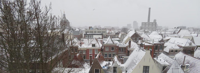 MirandaWandelt - Leiden winter 2021 -centrum Leiden
